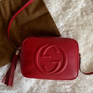 Gucci Red Soho Disco